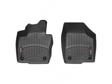WeatherTech Front FloorLiner (Black) For Volkswagen Jetta