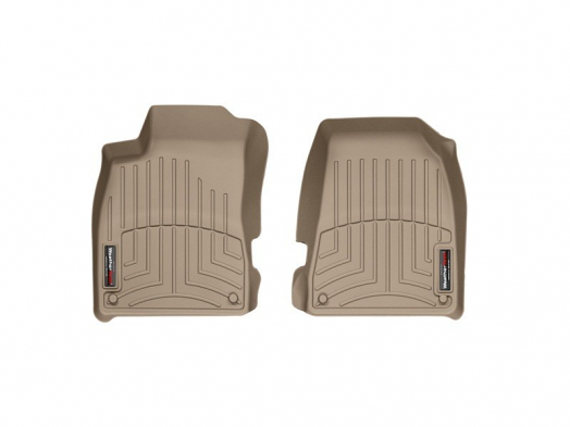 WeatherTech Front FloorLiner (Tan) For Audi A4/S4/RS4