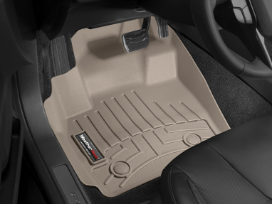 WeatherTech Front FloorLiner (Tan) For Audi A3
