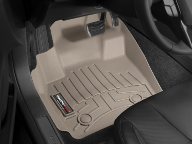 WeatherTech Front FloorLiner (Tan) For Volkswagen Jetta