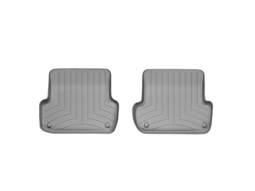 WeatherTech Rear FloorLiner (Grey) For Audi A4/S4/RS4
