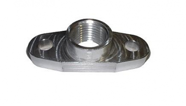 Torque Solution Billet Oil Drain Flange