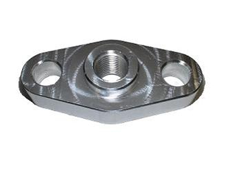 Torque Solution Billet Oil Feed Inlet Flange