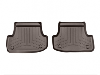 WeatherTech Rear FloorLiner (Cocoa) For Audi A3/S3