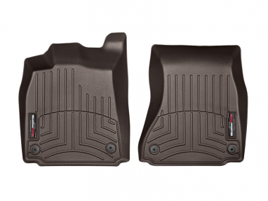 WeatherTech Front FloorLiner (Cocoa) For Audi A6/S6