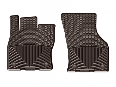 WeatherTech Front Rubber Mats (Cocoa) For Audi A3/S3