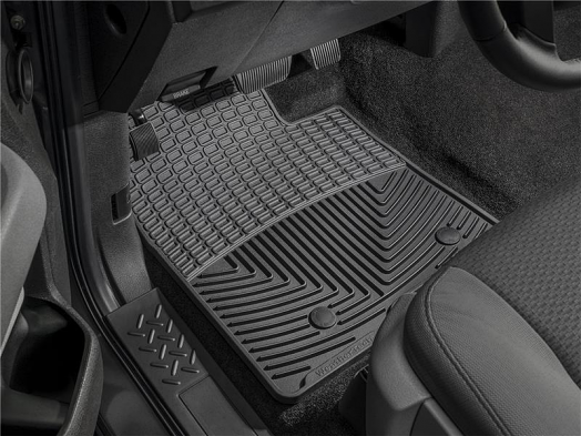 WeatherTech Front Rubber Mats (Black) For Porsche 911 (997)