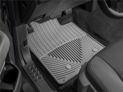 WeatherTech Front Rubber Mats (Grey) For Porsche 911 (997)