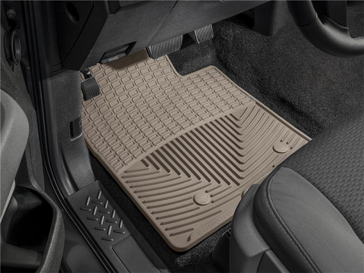 WeatherTech Front Rubber Mats (Tan) For Porsche 911 (997)