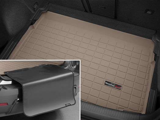 WeatherTech Cargo/Trunk Liner - Lowest Position BP (Tan) - For MK7 GTI/Golf/R