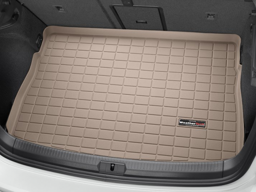 WeatherTech Cargo/Trunk Liner - Highest Position (Tan) - For MK7 GTI/Golf/R