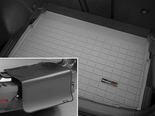 WeatherTech Cargo/Trunk Liner - Lowest Position BP (Grey) - For MK7 GTI/Golf/R