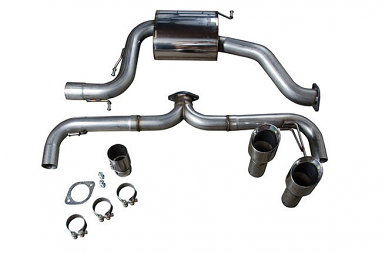 Milltek Non-Resonated Catback Exhaust For VW MK6 GTI