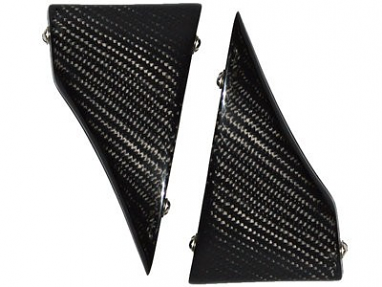 Carbon Fiber Intercooler Duct SplittersFor 996TT