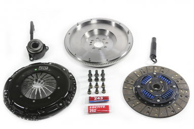 DKM MB Clutch Kit w/Steel Flywheel For VW/Audi (FSI) A3/EOS/Golf R/GTI/Jetta/Passat