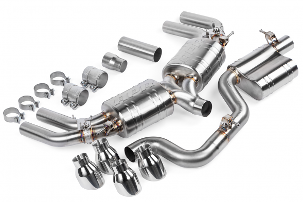 APR Catback Resonated Exhaust System For VW MK7.5 Golf R (2018+)