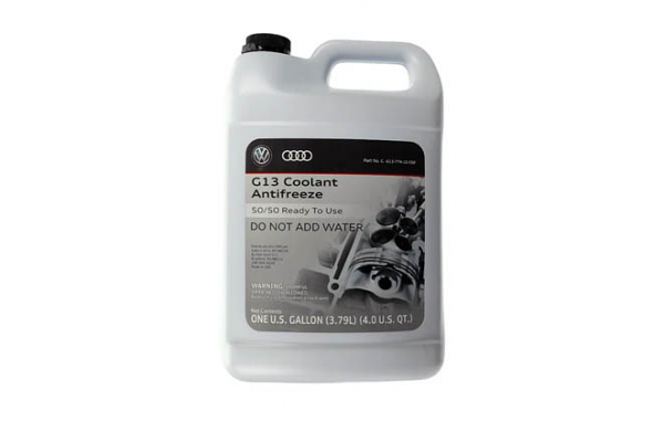 OEM Genuine G13 Coolant / Antifreeze - 1 Gallon For VW/Audi