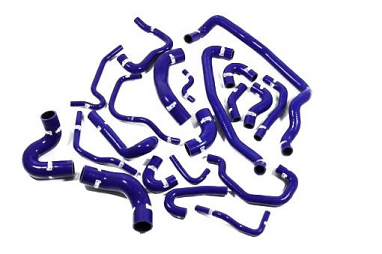 Forge Silicone Coolant Hose Kit Blue For MK4 R32