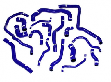 Forge Silicone Coolant Hose Kit Blue For MK6 Golf R