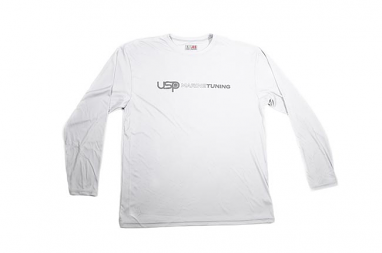 USP Marine Tuning Long Sleeve Performance Shirt (Silver) - Small