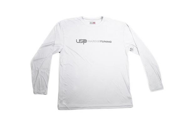 USP Marine Tuning Long Sleeve Performance Shirt (Silver) - Large