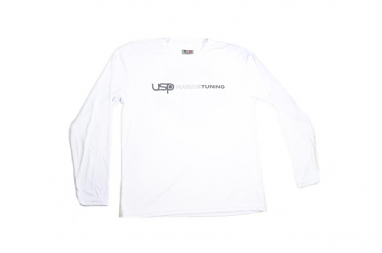USP Marine Tuning Long Sleeve Performance Shirt (White) - Medium