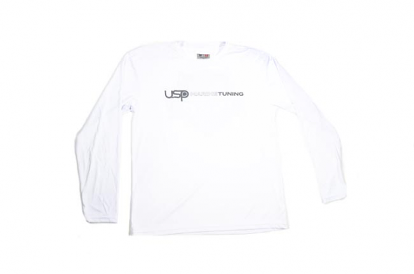 USP Marine Tuning Long Sleeve Performance Shirt (White) - X-Large