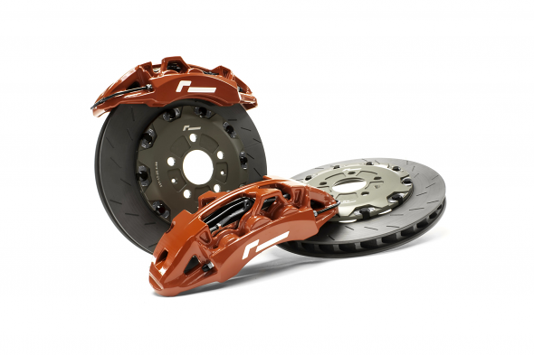 Racingline Big Brake Stage 3 Kit For VW/Audi MQB - 355mm (Red)