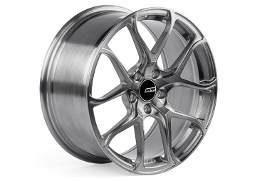 APR S01 Forged Aluminum Wheel - ET45, 18X8.5 (Brushed Gunmetal)