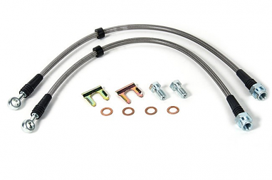 USP Stainless Steel Front Brake Lines For VW MK4