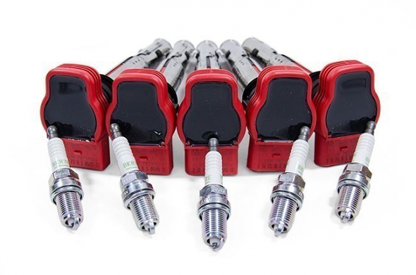 Lager by USP Complete Ignition Service Kit For MK6 Jetta 2.5L