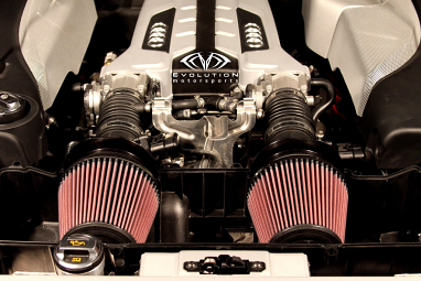 Evolution Motorsports V-Flow Intake System For R8