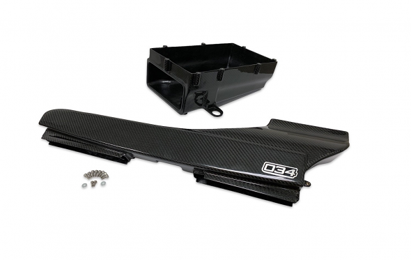 034 X34 Carbon Fiber Lower Intake Box And Fresh Air Duct For Audi TTRS/RS3 8S/8V.5