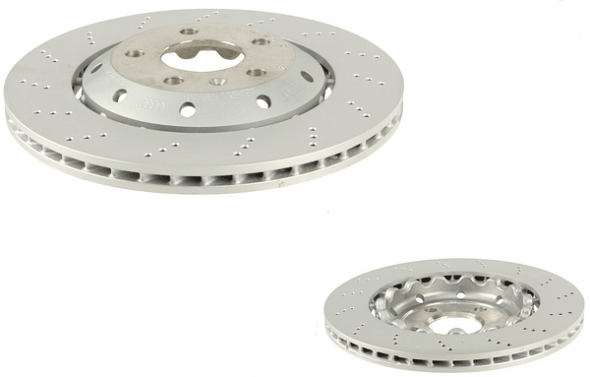 Brake Rotor Rear Right For Audi RS4