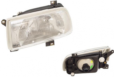 OEM Headlight Assembly Left - VW MKIII Jetta