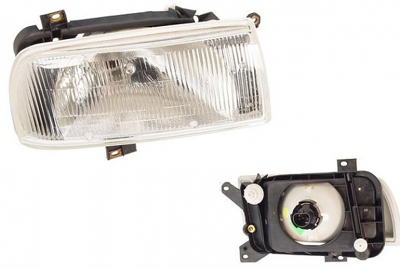 OEM Headlight Assembly Right For VW MKIII Jetta