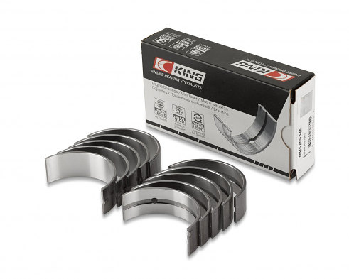 King Bearings Connecting Rod Bearing Set (Size +0.75) For Ford Fiesta 1.25I (Zetec)