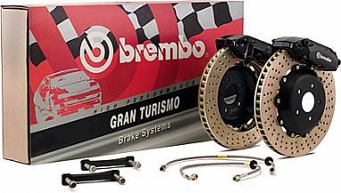 Brembo GT Systems 355mm 2-Piece (Front) 6 Piston