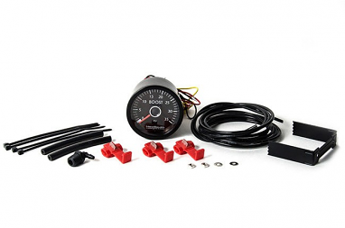 NewSouth White 0-35 PSI Boost Gauge For VW TDI