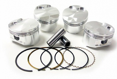 JE FSR Piston Set - 82.5mm 9.1:1 For 2.0T TSI