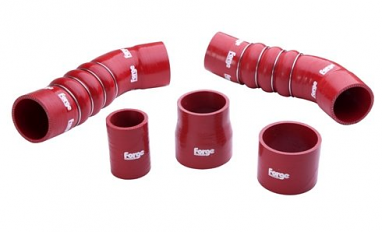 Forge Silicone Boost Hoses Red For TTRS