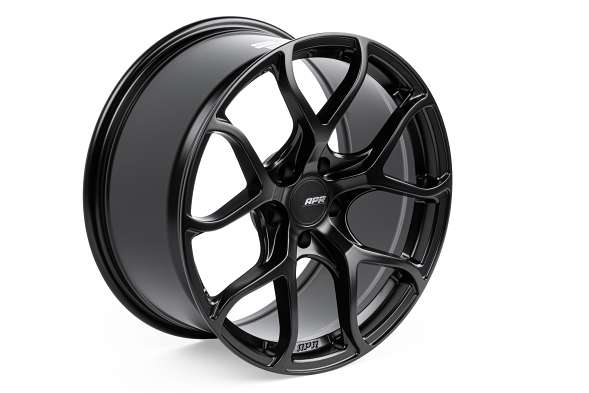APR A01 Flow Formed Wheel For ET40, 18X9 - Satin Black