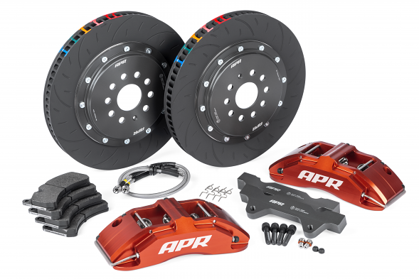 APR Big Brake Kit (380x34mm) For (ROW) Audi RS3 8V Hatch - Red