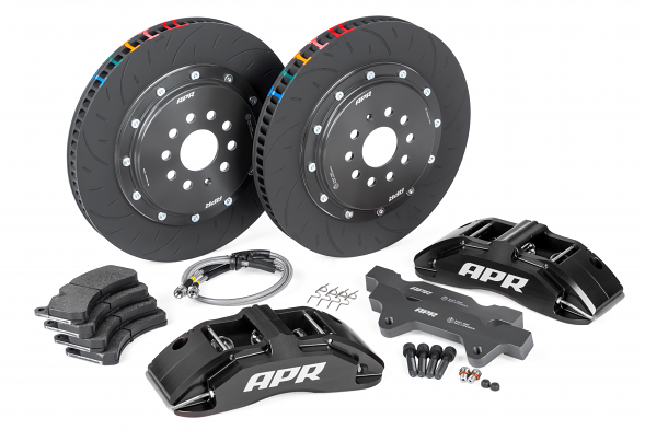 APR Big Brake Kit (380x34mm) For (ROW) Audi RS3 8V Hatch - Black