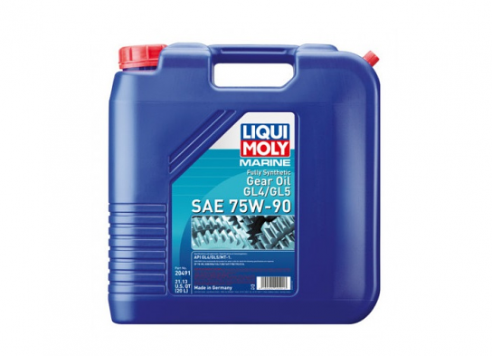 Liqui Moly Marine Fully Synthetic Gear Oil GL4/GL5 75W-90 - 20 Liters