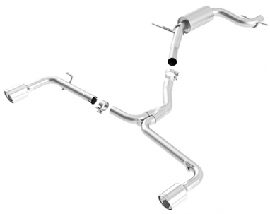 Borla Stainless Steel Cat Back Exhaust System - VW Beetle