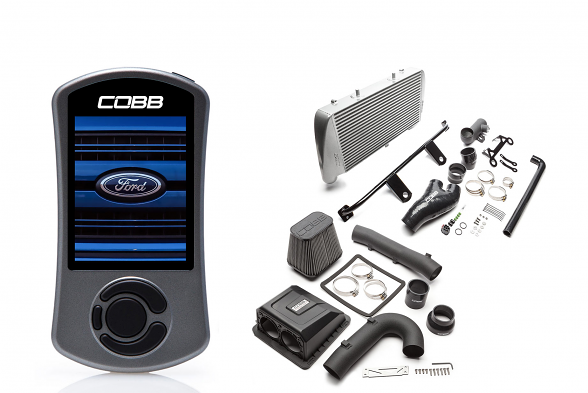 COBB Stage 2 Power Package Silver w/ TCM For Ford Raptor Ecoboost