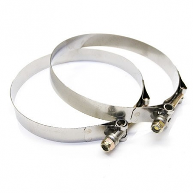 """Stainless Steel T-Bolt Clamp 5.5"""""""