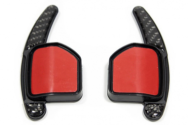 Carbon Fiber DSG Paddle Extensions For Audi Vehicles