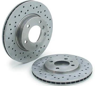 OEM Rear Right Brake Rotor For 996TT